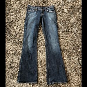 Citizens of Humanity Jeans Low Waist Flair sz 28